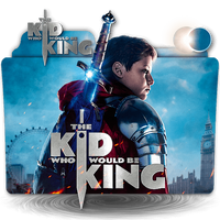 The Kid Who Would Be King movie folder icon v1 by zenoasis