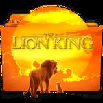 The Lion King 2019 movie folder icon v1