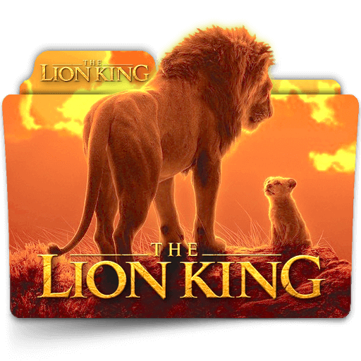 The Lion King 2019 Movie Folder Icon V2 By Zenoasis On