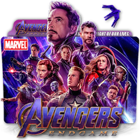 Avengers Endgame movie folder icon by zenoasis