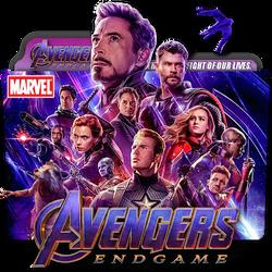 Avengers Endgame movie folder icon by zenoasis