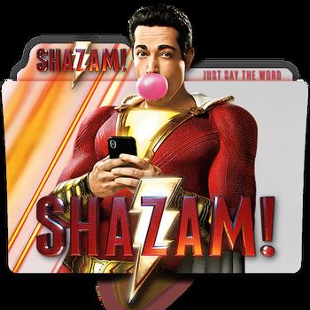 Shazam! movie folder icon v4 by zenoasis
