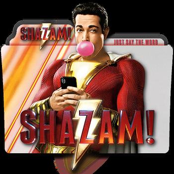 Shazam! movie folder icon translucent by zenoasis