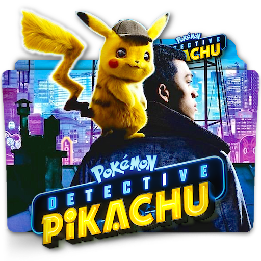 Pokemon Detective Pikachu Movie Folder Icon V4 By Zenoasis On Deviantart
