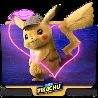 Pokemon Detective Pikachu movie folder icon v5 by zenoasis