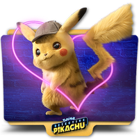 Pokemon Detective Pikachu movie folder icon v6 by zenoasis