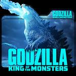 Godzilla King Of Monsters movie folder icon v4 Mac