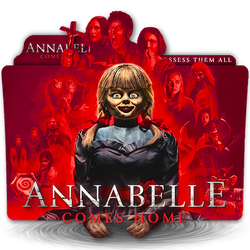 Annabelle Comes Home movie folder icon v1 by zenoasis