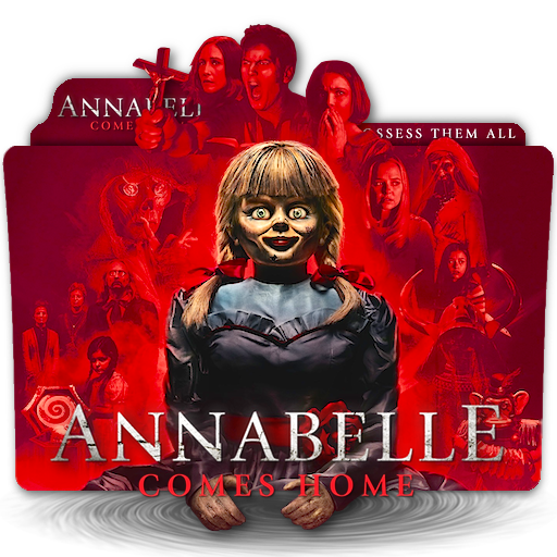 Annabelle Comes Home Movie Folder Icon V1 By Zenoasis On Deviantart