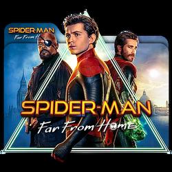Spider-Man Far From Home movie folder icon v2 Mac by zenoasis