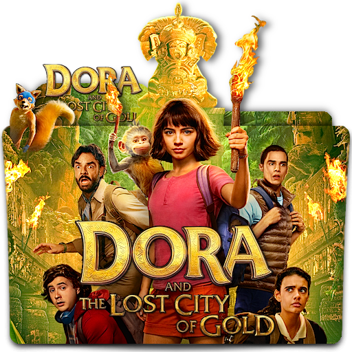 DORA and The Lost City Of Gold movie folder icon by