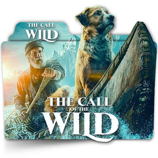 The Call Of The Wild Movie Folder Icon V1 En By Zenoasis On Deviantart