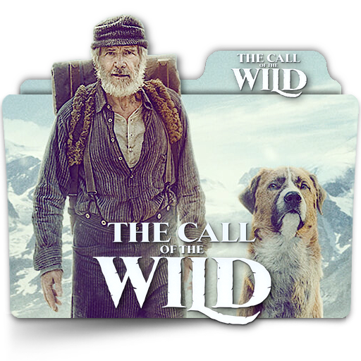 The Call Of The Wild Movie Folder Icon V2 En By Zenoasis On Deviantart