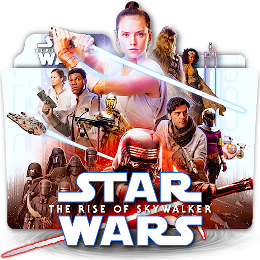 Star Wars Rise Of Skywalker Movie Folder Icon V5 By Zenoasis On Deviantart