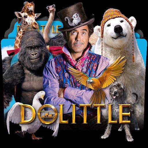 Dolittle 2020 Movie Folder Icon En By Zenoasis On Deviantart