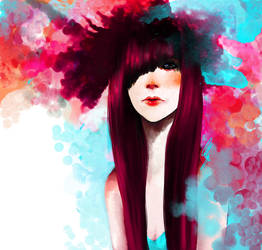 Pink Circles by AlaquaFry