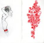Moleskine Swirly by AlaquaFry