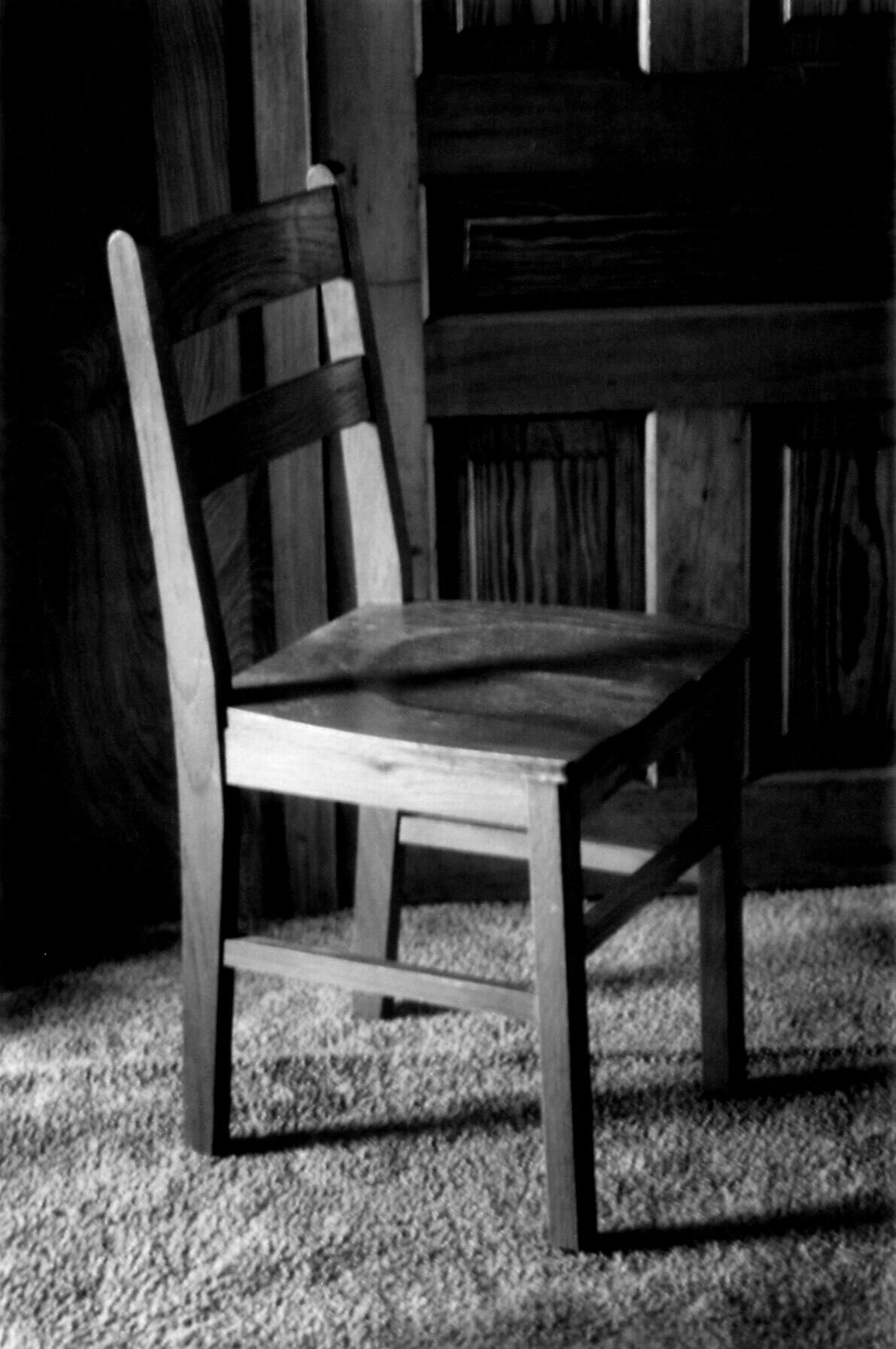 Old wooden chairs -  An Old Wooden Chair By Meangirl