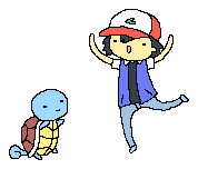 Ash and Squirtle by CommonDusty