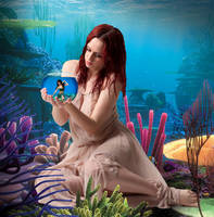 Goddess of the Sea by DavienOrion