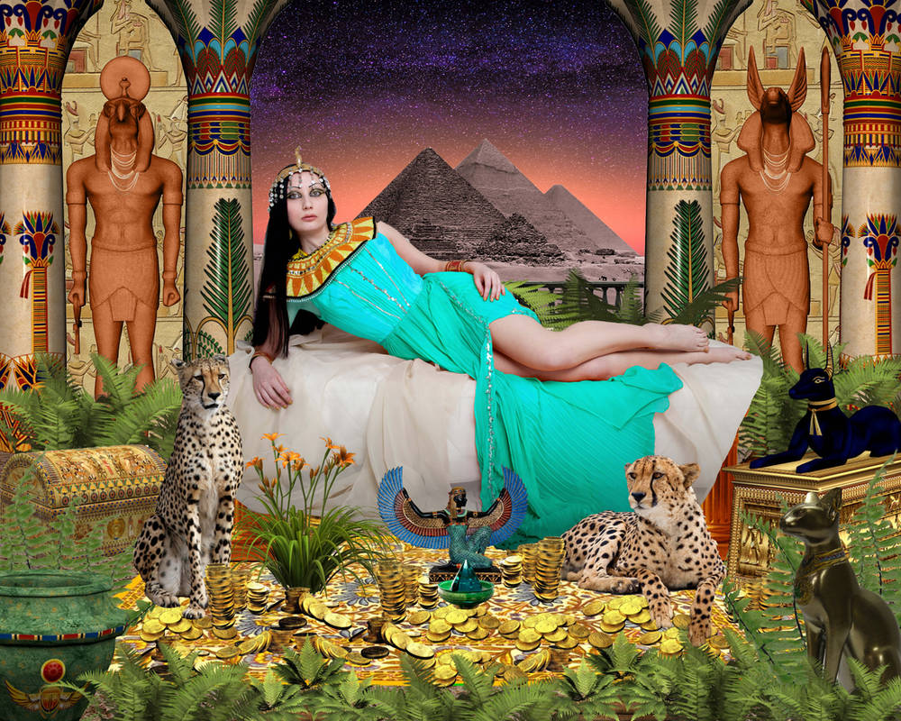 Cleopatra Queen of Egypt by DavienOrion