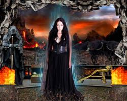 Goddess Hades by DavienOrion