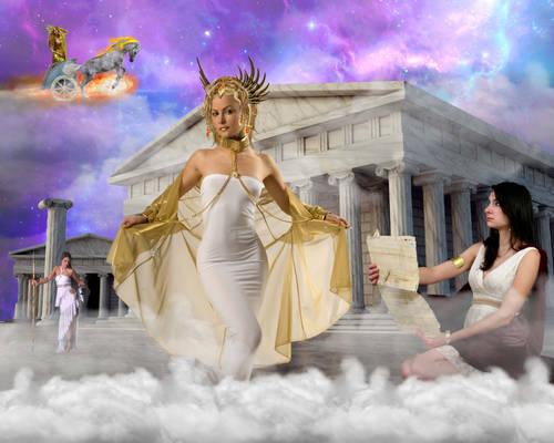 Goddess Hermes