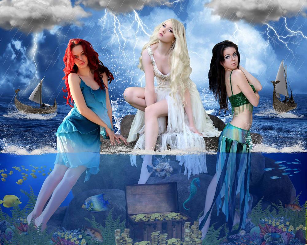Greek Mythology: Sirens by DavienOrion