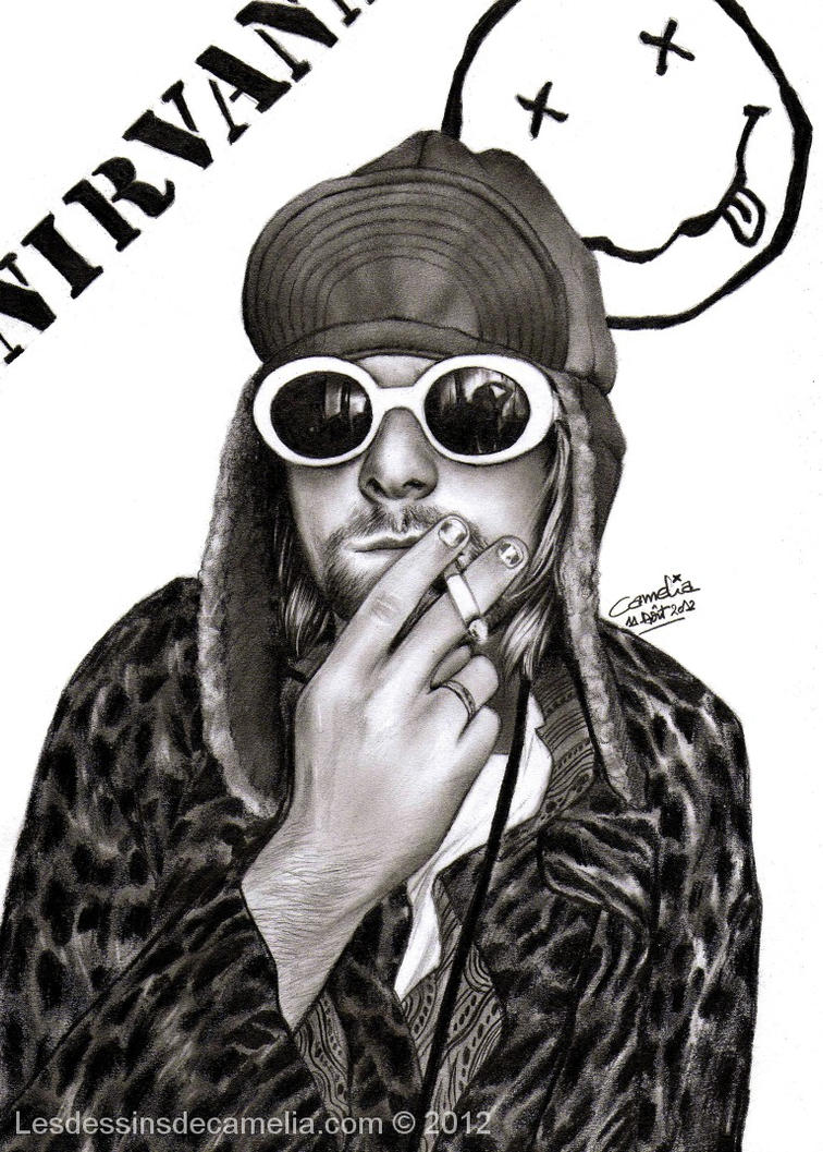 Kurt Cobain - Nirvana by Camelia-07