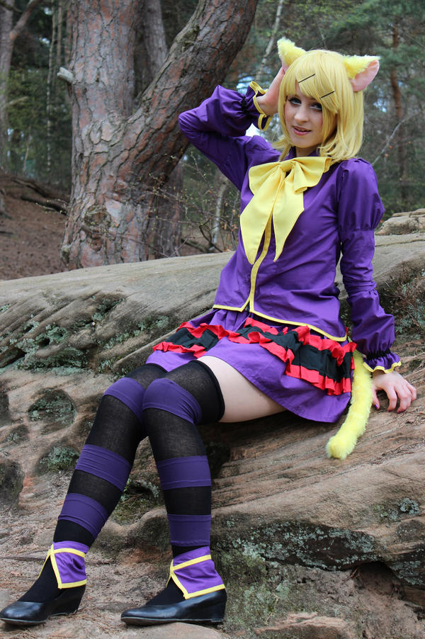 Rin Kagamine - Trick and Treat Cosplay_02