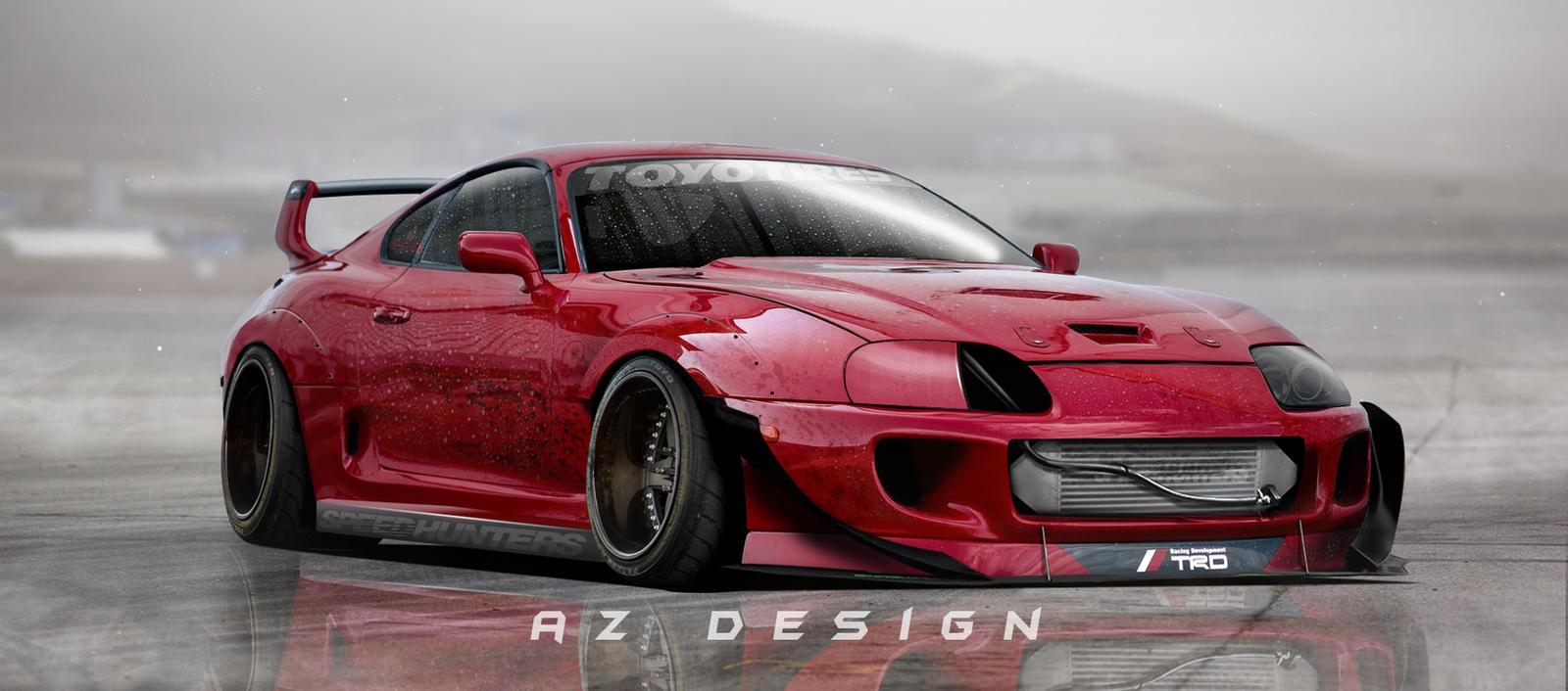 Toyota Supra Rocket Bunny By Azdesign1 On Deviantart