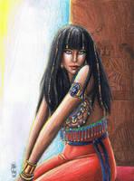 Contest Prize - Cleopatra by MyWorld1