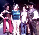 The Captain, His Lady, My Mom, and Me