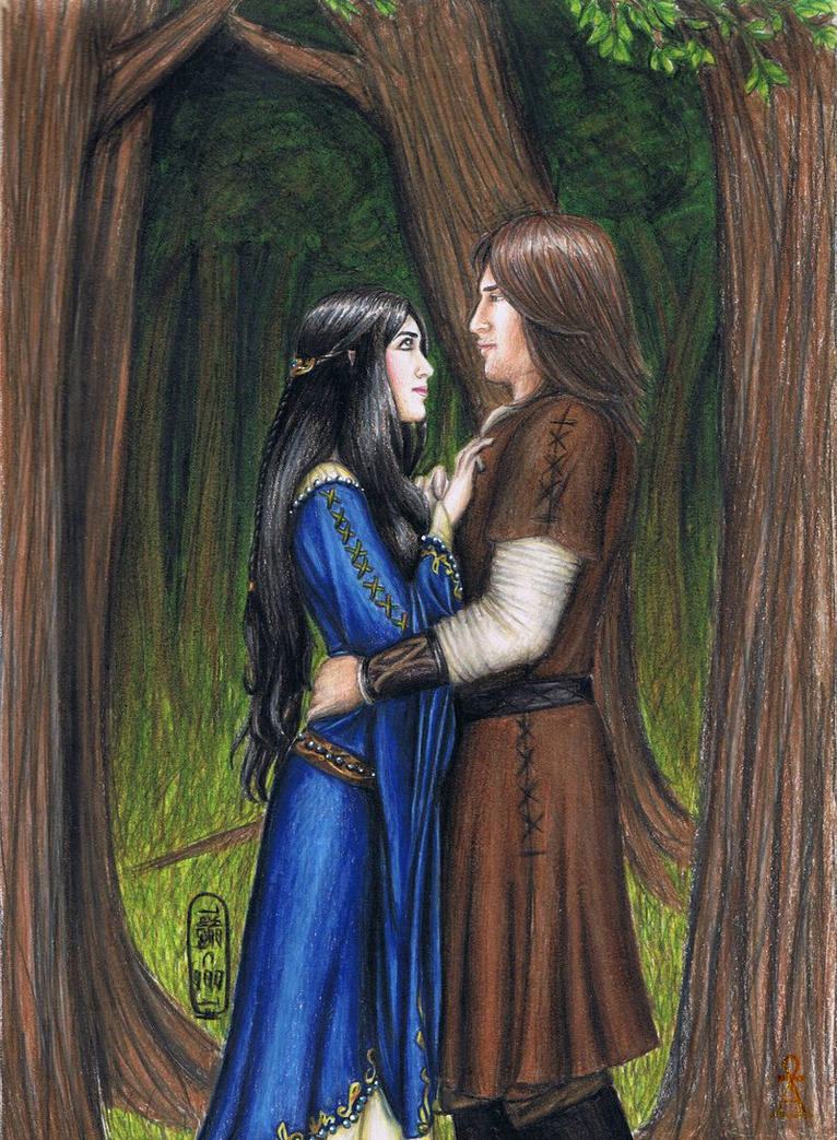 Beren and Luthien by MyWorld1
