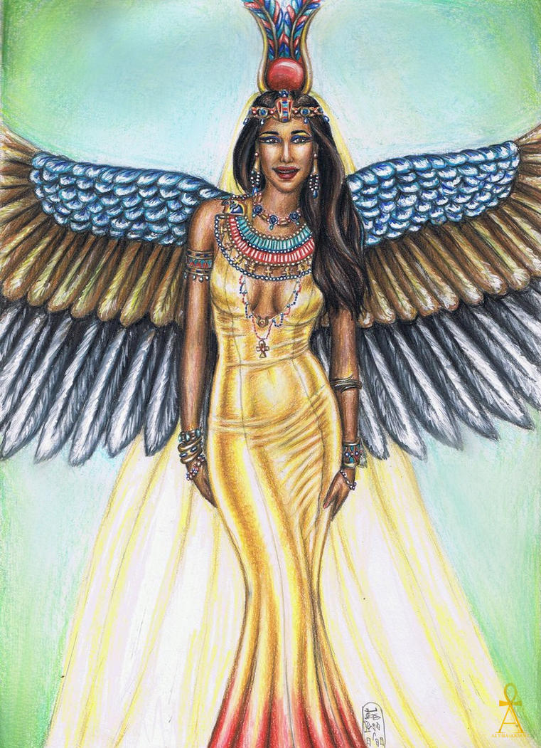 Egyptian Goddess by MyWorld1