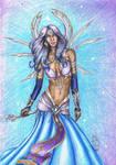 Atlantian Goddess of Dreams by MyWorld1