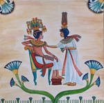 Tutankhamun and His Queen