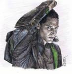 Sexy Loki Impersonator Colored