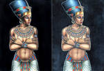 Nefertiti compare