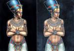 Nefertiti compare