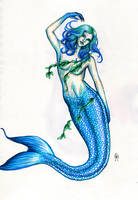 Blue Mermaid by MyWorld1