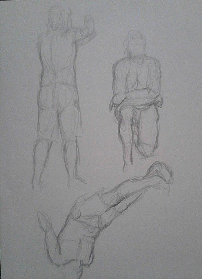 Figure sketch1 by MyWorld1
