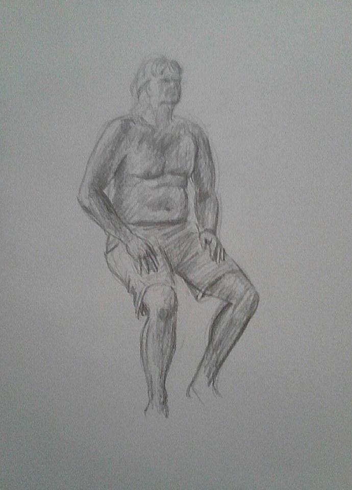 Figure sketch9 by MyWorld1