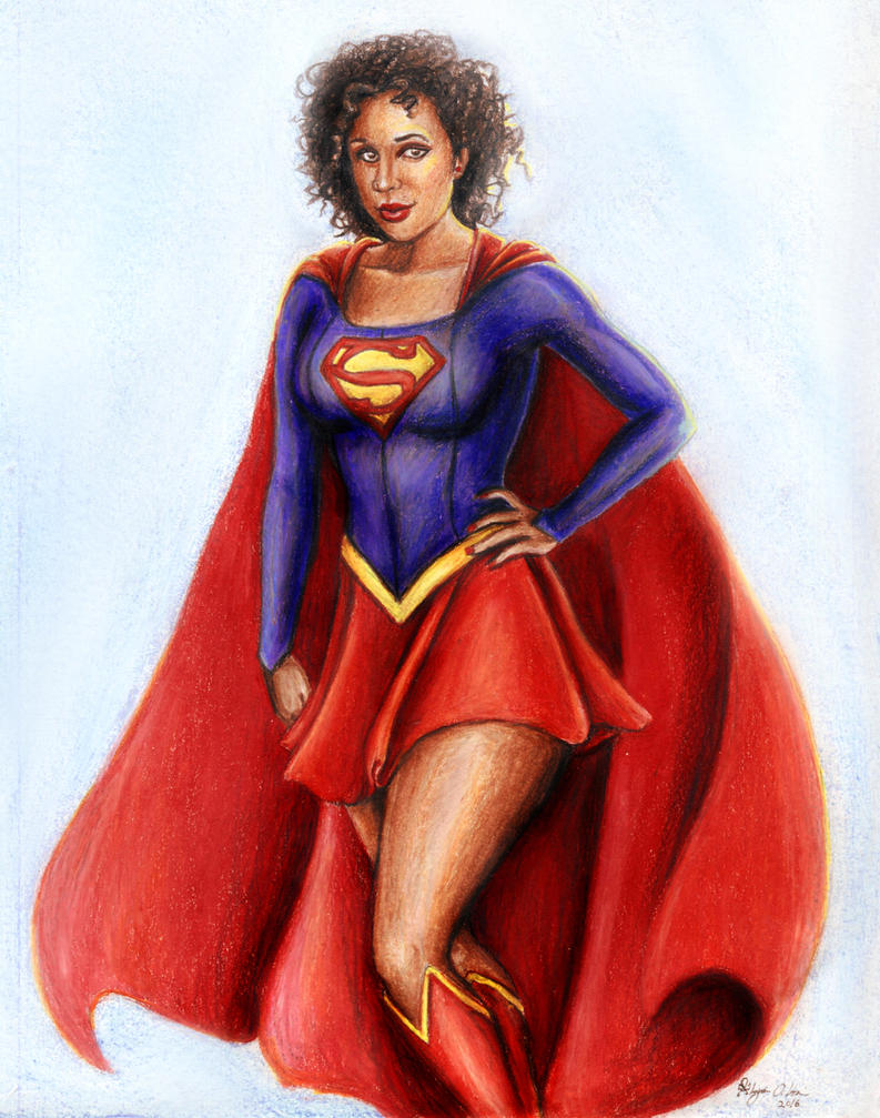 Supergirl - Commission by MyWorld1