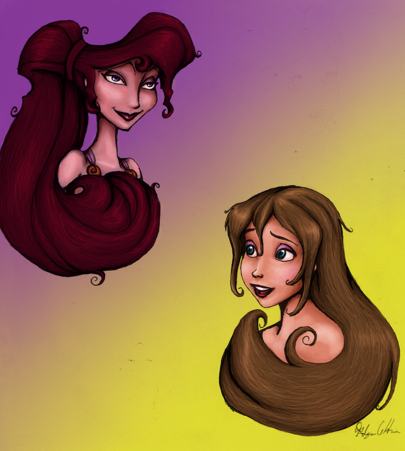 Disney Beauties Colored 3 by MyWorld1