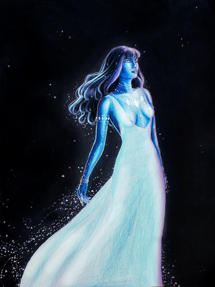 The Lady of the Night Sky