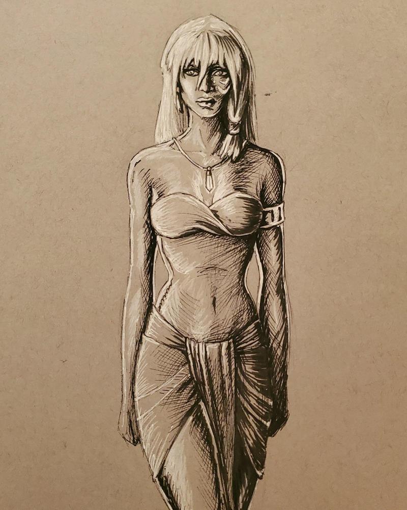 Kida Pen Sketch
