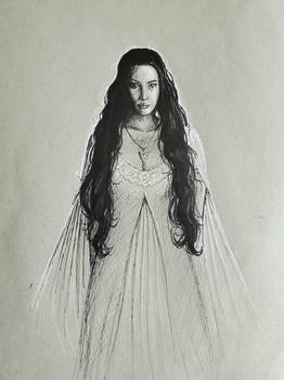 Arwen - Six Fan Art Challenge