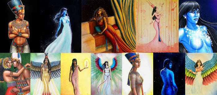 Queens and Goddesses of Ancient Egypt Calendar
