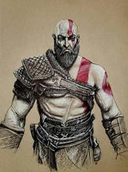 Kratos - Six Fanarts Challenge
